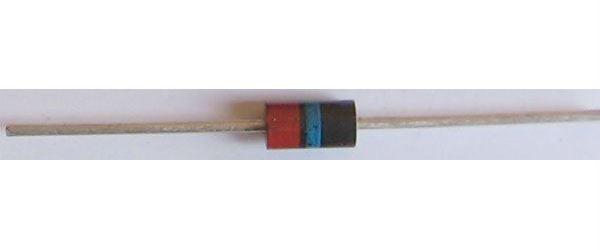 KY272 dioda rychlá 200V/3A  DO27C