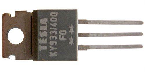 KY933/400 2x dioda uni 400V/3A TO220AB