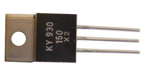 KY930/150 2x dioda uni 150V/3A TO220
