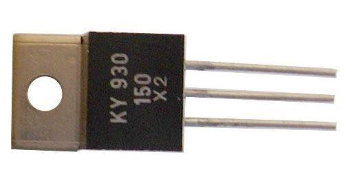 KY930/600 2x dioda uni 600V/3A TO220