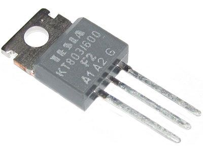 Triak KT803/400 400V/10A           TO220AB