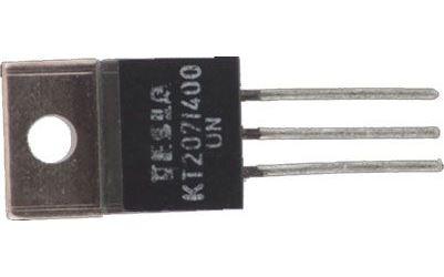 Triak KT207/400 400V/5A           TO220