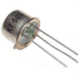 Tyristor KT505 400V/1A            TO39