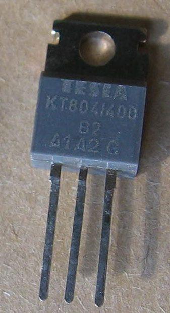 Triak KT804/400 400V/10A           TO220AB