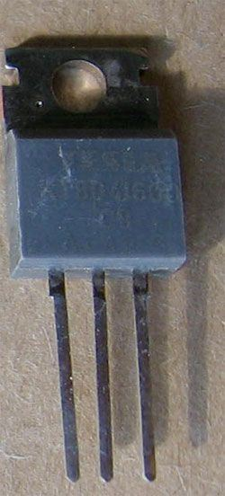 Triak KT804/600 600V/10A           TO220AB