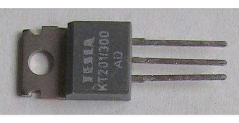 Tyristor KT201/300 300V/3A 20mA     TO220AB
