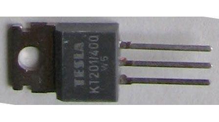Tyristor KT201/400 400V/3A 20mA     TO220AB