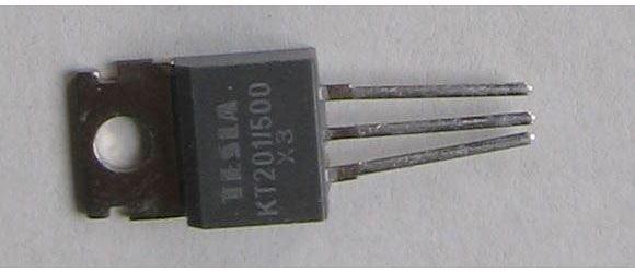 Tyristor KT201/500 500V/3A 20mA     TO220AB