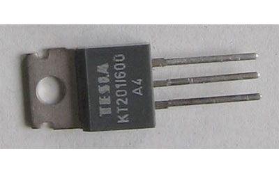 Tyristor KT201/600 600V/3A 20mA     TO220AB