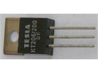 Tyristor KT206/200 200V/3A 10mA     TO220AB