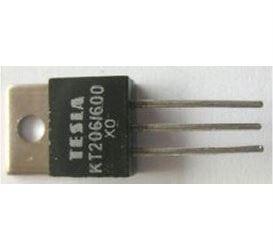 Tyristor KT206/600 600V/3A 10mA     TO220AB