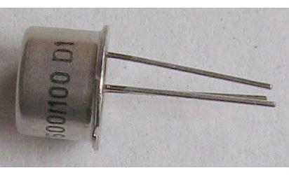 Tyristor KT500/100 100V/1A  1mA  /~KT502/    TO39