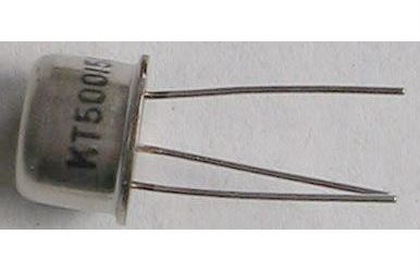 Tyristor KT500/50 50V/1A  1mA  /~KT501/    TO39