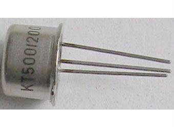 Tyristor KT500/200 200V/1A  1mA  /~KT503/    TO39