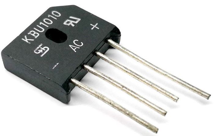KBU1010 - diodový můstek 1000V/10A