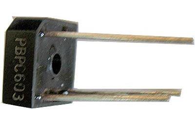 PBPC603 diodový můstek 300V=/6A drát