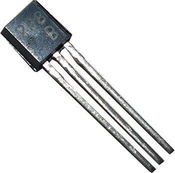 KC238B N UNI 20V/0,1A  (ß=180-460) TO92 /BC238B/