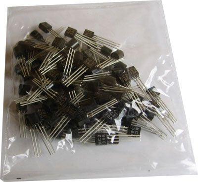 KC238B N UNI 20V/0,1A  TO92 /BC238B/ balení 100ks