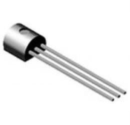 BC546A N 65V/0,1A 0,5W (ß=120-220) TO92