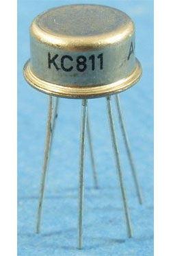 KC811 2xNPN 45V/20mA 0,5W