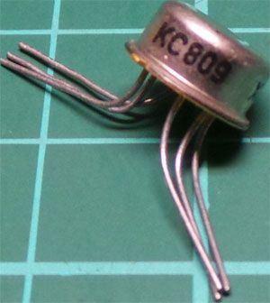 KC809 2xNPN 30V/20mA 0,5W
