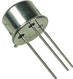 KCY33 tranzistor uni NPN 40V/1A 0,7W  TO-39 /~KF507/