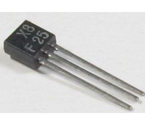 BF225 N vf 40V/0,05A 0,25W 700MHz, TO92