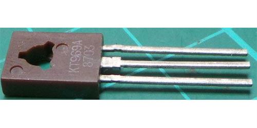 KT969A N vf 250V/0,1A 6W TO126 /BF469/