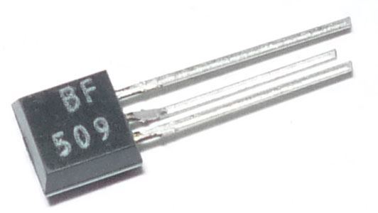 BF509 P 40V/0,03A 0,3W 750MHz    TO92