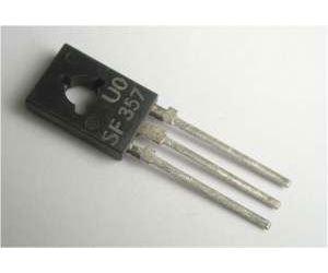 SF357 tranzistor vf NPN 160V/0,1A 1,2(6)W 60MHz TO-126