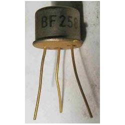 BF258 N 250V/0,1A 0,8(2,5)W 40-110MHz TO39