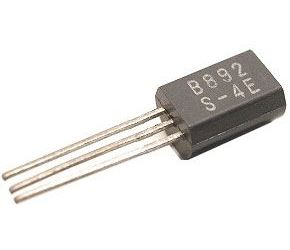 2SB892 P darl. vf 50V/2A 1W 150MHz, TO92 9mm /2SB892+2SD1207/