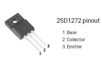 2SD1272 N 150V/1A 40W 25MHz, TO220 iso