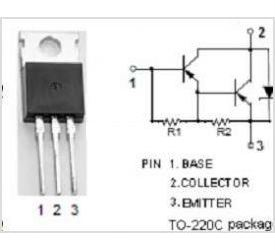 BD650 P darl. 100V/8A 65W  TO220