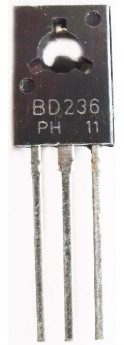 BD236 P 60V/2A/25W   TO126
