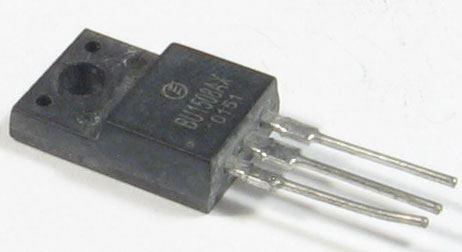 BU1508AX N výkonový 700V/8A/35W   SOT186A