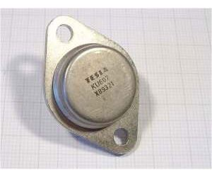 KU607 N 210V/10A 70W spínací  TO3
