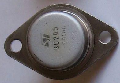 BU205 N výkon.spínací 700V/2,5A 36W  TO3 ST