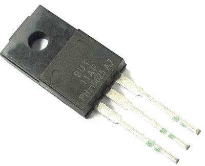 BUT11AF N 450V/5A 20W      SOT186 ISOL.