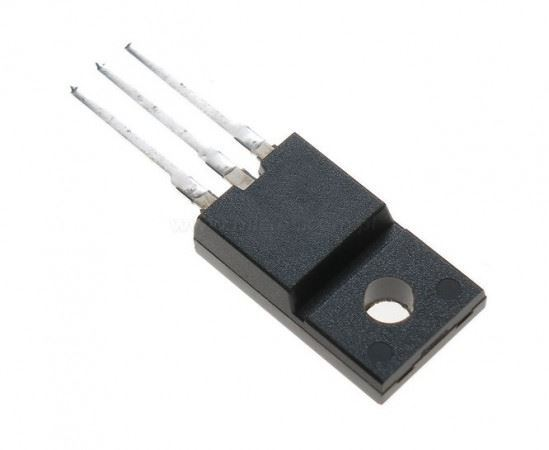 STP13NK60ZFP N MOSFET 600V/13A  35W  TO220iso