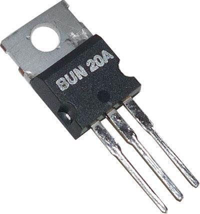 BUN20A N MOS 200V/7A 70W       TO220