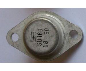 SU160 N 1500V/5A 12,5W  TO3
