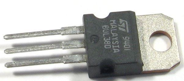 BUL38D N 450V/5A 80W TO220