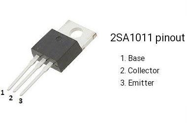 2SA1011 P 180V/1A 25W, TO-220