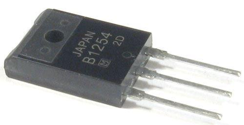 2SB1254 P darl. 140V/7A 70W 20MHz    TOP-3