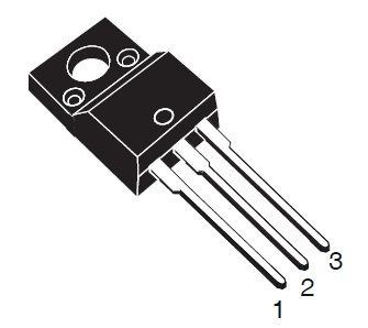 2SK2545 N MOSFET 600V/6A 40W 0,9R         TO220iso