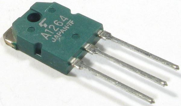 2SA1264 P 120V/8A 80W     TO3P