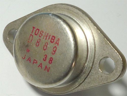 2SD869 N 1500V/3,5A 50W TO3