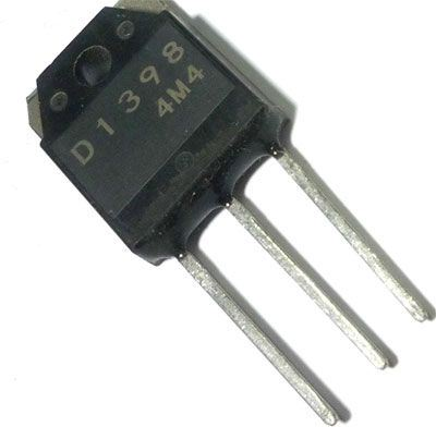 2SD1398 N 800V/5A 120W TO-247