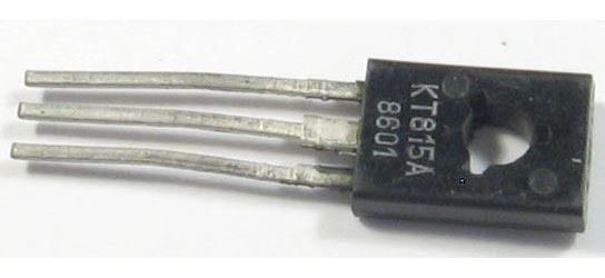 KT815A N výkonový, 40V/1,5A    TO126